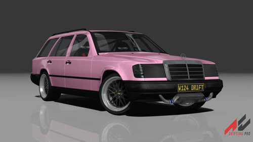 Mercedes W124 Wagon Drift Car - Cars - AC Drifting Pro